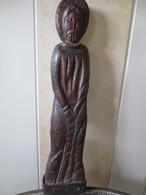 Art Populaire - Sculpture D'ornement à Caractère Religieux ( Saint ) 17 Eme Siècle - Origine Curey ( Manche ) - Popular Art