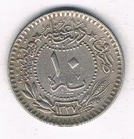 10 PARA 1912 TURKIJE /2367G/ - Turquia