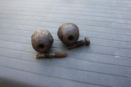 2 Grenades Oeufs ALL WW1 - 1914-18