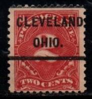 "USA Precancel Vorausentwertung Preo, Locals ""CLEVELAND"" (OHIO) Taxe. - United States"