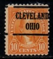 "USA Precancel Vorausentwertung Preo, Locals 'CLEVELAND"" (OHIO). - United States"
