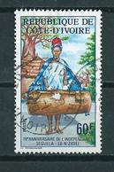 1978 Ivoorkust Independence Used/gebruikt/oblitere - Ivoorkust (1960-...)