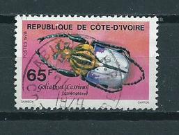 1978 Ivoorkust 65F. Insect Used/gebruikt/oblitere - Ivoorkust (1960-...)