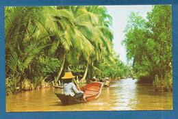 THAILAND DHONBURI FLOATING MARKET - Thaïlande