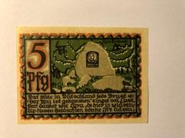 Allemagne Notgeld Osnabruck 5 Pfennig - Collezioni