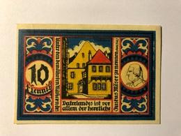 Allemagne Notgeld Osnabruck 10 Pfennig - Collezioni