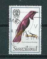 1976 Swaziland Birds,oiseaux,vögel Used/gebruikt/oblitere - Swaziland (1968-...)