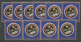 10x GUINEA - MNH - Space - Mision Apolo - Soyuz - Autres
