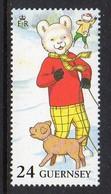 GUERNSEY - 1993 RUPERT BEAR 24p STAMP SG 605 FINE MNH ** - Guernsey