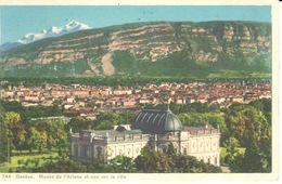 GE - Genève - CPA - Musée De L'Ariana Et Vue Sur La Ville - GE Genève
