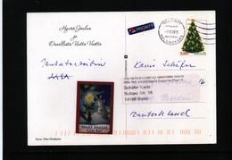 Finland 2012  Interesting Airmail Postcard - Finland