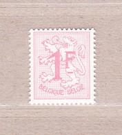 1957 Nr 1027BP2** Postfris Zonder Scharnier.Cijfer Op Heraldieke Leeuw. - 1951-1975 Lion Héraldique