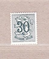 1957 Nr 1027P2** Postfris Zonder Scharnier.Cijfer Op Heraldieke Leeuw. - 1951-1975 Lion Héraldique