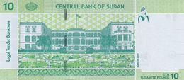 Sudan 10 Pounds 2017 UNC - Soudan