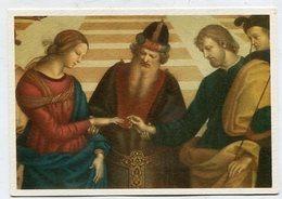 CHRISTIANITY  - AK 321936 Raffaello - Lo Sposalizio Della Vergine (part.) - Quadri, Vetrate E Statue