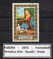 """FUJEIRA - 1972 - Francobollo Tematica """" Arte - Quadri """" Usato -  (FDC9396) - Fujeira"""
