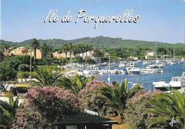 Ile De PORQUEROLLES - Le Port De Plaisance - Porquerolles