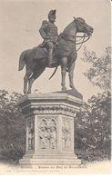 GE - Genève - CPA - Statue Du Duc De Brunswick - GE Genève