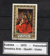"""FUJEIRA - 1972 - Francobollo Tematica """" Arte - Quadri """" Usato -  (FDC9398) - Fujeira"""