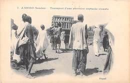 Afrique (Mali)  SOUDAN  A.NIORO  Transport D'une Panthère Capturée Vivante - Mali