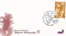 FDC. MUJERES DESTACADAS. CARMEN LYRA. -BLEUP - Costa Rica