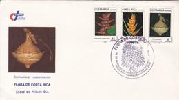 FDC. FLORA DE COSTA RICA. ESCHWEILERA CCCOSTARRICENSIS. SAN JOSE OBLIT.-BLEUP - Costa Rica