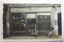 CARTE PHOTO - CORDONNERIE & CHAPELLERIE - MAISON BLACHE - 6bis RUE DE LYON - PARIS - District 12