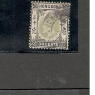 HongKong1903:Michel 69 Used Cat. $36.00Value - Hong Kong (...-1997)