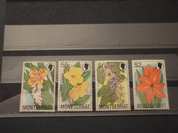 MONTSERRAT - 1978 FIORI  4 VALORI - NUOVI(++) - Montserrat