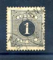 1874-91 SVEZIA SERVIZIO N.1 D.13 USATO - Service