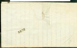 HANDGESCHREVEN BRIEF Uit 1866 Gelopen Van SITTART Naar NOTARIS Te LANGSTEMPEL ECHT * Betreft Testament Erfgenaam (10.928 - Periode 1852-1890 (Willem III)