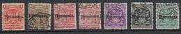 Rhodesie - Rhodesia 1909   1c, 2c, 3c, 6, 3/-, 7/6 Et 10/-  O  Oblit - Grande-Bretagne (ex-colonies & Protectorats)