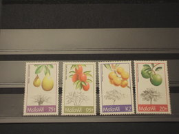 MALAWI - 1993 FRUTTI E PIANTE  4 VALORI - NUOVI(++) - Malawi (1964-...)