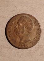 TOKEN JETON GETTONE MONETA RICONIO UMBERTO I 20 LIRE MARENGO 1891 - Monetary/Of Necessity