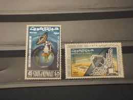 KUWAIT - 1969 SATELLITE 2 VALORI - NUOVI(++) - Kuwait