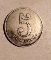 TOKEN JETON GETTONE SPAGNA 5 PESETAS - Monetari/ Di Necessità