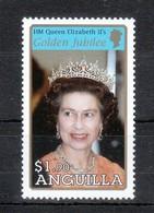 Anguilla 2002**, 50. JT Der Thronbesteigung Von Königin Elisabeth II  / Anguilla 2002, MNH, 50th Anniversary Of Queen - Anguilla (1968-...)