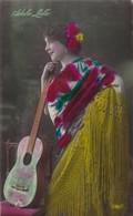 ADELA LULU. MARGARA. FABRIACION ESPAÑOLA. COLORISE-BLEUP - Artistes