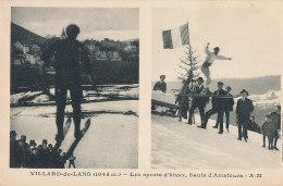 38 // VILLARD DE LANS    Les Sports D'hiver, Sauts Amateurs - Villard-de-Lans