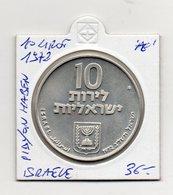Israele - 1972 - 10 Lirot - Pidyon Haben - Argento - Vedi Foto - (FDC9405) - Israele