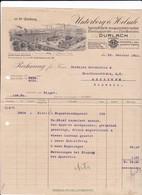 Unterberg & Helmle, Zündkerzen, Dürlach, Rechnung 1911 - Automobile