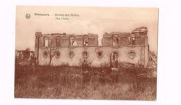 Nieuport.Ruines Des Halles. - Nieuwpoort