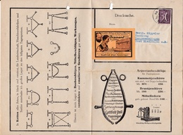 Memmingen, Gottlieb Stoll, Preisliste, Aufkleber : Diamant-Aufsätze - Publicités