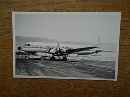 DOUGLAS DC-7 B , N51701/C-31 Water Bomber - Aviation