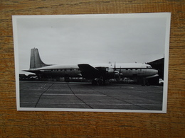 DOUGLAS DC-7 C/F , N 8216H - Aviazione