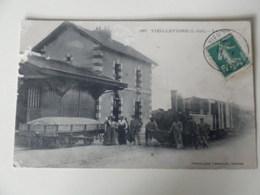 Cpa 44 Vieillevigne Gare - Otros Municipios