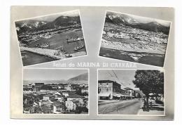 SALUTI DA MARINA DI CARRARA VEDUTE - VIAGGIATA FG - Carrara