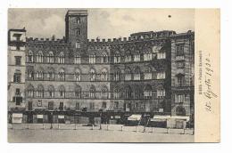 SIENA PALAZZO SANSEDONI 1930  VIAGGIATA FP - Siena