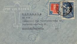 1935 , ARGENTINA , SOBRE CIRCULADO , BUENOS AIRES - ESSEN , CORREO AÉREO - Lettres & Documents