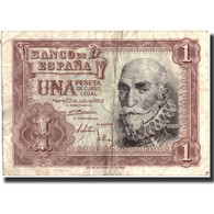 Billet, Espagne, 1 Peseta, 1953, 1953-07-22, Specimen, KM:144a, TB+ - [ 3] 1936-1975 : Regency Of Franco